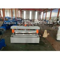Quality Trapezoidal Roofing Sheet Roll Forming Machine 380V Roofing Sheet Making Machine for sale