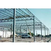 Quality Multi Functional Heavy Steel Building Frame , Hot Dip Galvanized Steel Frame Building for sale
