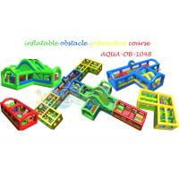 Quality Inflatable Obstacle Interactive Course for sale