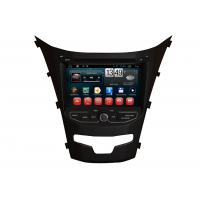 Quality Ssangyong 2014 Korando Android Touch Screen Navigation System DVD Player Radio RDS TV for sale