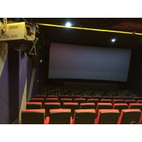 Quality 50-180 People Shocked Theater with Brand Sound Vision Feast System for sale