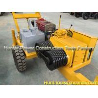 China Gasoline engine power Cable Pulling Winches Cable Pull Assist Winch on sale