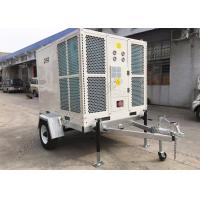 Outdoor Portable Air Conditioning Units 15HP BTU127500 Ducted Domed Type With Trailer