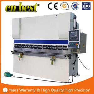 Quality 100T press brake CNC hydraulic press brake machine WC67K 100T3200MM bending mahcine for sale