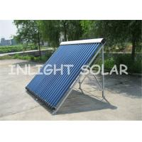 China Manifold Pressure Passive Solar Water Heater , Heat Pipe Evacuated Tube Solar Collectors on sale