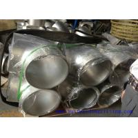 Quality DN15 - DN1200 UNS S32760 Stainless Steel Equal Tee / pipe fitting for sale