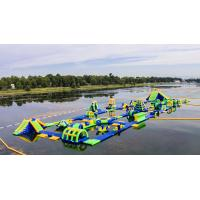 Quality Inflatable Floating Water Sports Theme Park / Water Splash Park Installed In Milano for sale
