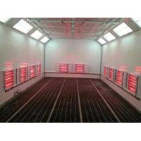 Buy cheap Short Wave Infrared Lamp Heating Side Draft Paint Booth For 4S Shop from wholesalers
