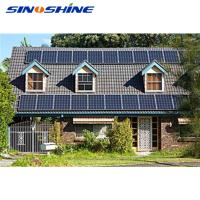 Quality Easy installation 3kw off grid hybrid solar wind power system for sale