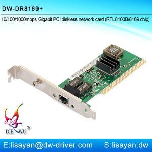 China Good quality Realtek RTL8169 1G Ethernet Lan PCI adapter card on sale