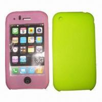 Quality Silicone/PVC Cases for iPhone, Dust-proof, Durable, Looks Good, Various Colors/Designs Available for sale