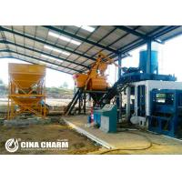 Quality Hydraulic Manual Interlocking Brick Making Machine For Riverside Bricks / Grassed Bricks Produce for sale