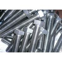 Quality Power Accessories Flanged Hex Bolt / Stainless Steel T Bolt Corrosion Resistance for sale