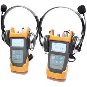 Quality JZ4103N Optical Test Instruments / Hand Hold Optical Talk Set For Maintenance CATV for sale