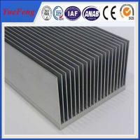 Quality wholesale Large extruded aluminum heatsink, OEM heat sink fin aluminum extrusion profile for sale
