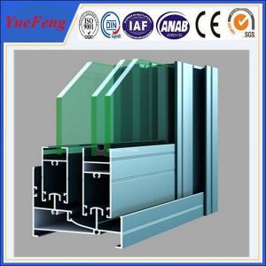 Quality 6061/6063 aluminium extrusion sliding glass window profiles,aluminium boat window frames for sale