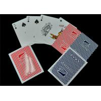 Full Color Printing Paper Casino Played Cards EN71 / CE / REACH Certificated