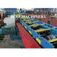 Buy Hydraulic Punching Shutter Door Frame roll forming machine Gear Box or Chain Type at wholesale prices