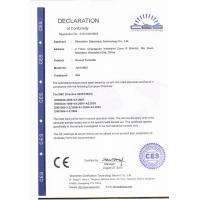 SHENZHEN SINOMATIC TECHNOLOGY CO., LIMITED Certifications
