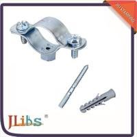 Quality Cast Iron Horizontal / Vertical Pipe Support Clamps For Ceilings Floor Mounting for sale