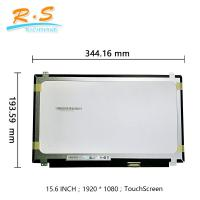 """Buy cheap 15.6 """" Touch Screen LCD Display TFT FHD B156HTK01.0 For Laptop Replacement from wholesalers"""