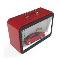 Quality TFT Type Transparent LCD Screen , Transparent Lcd Box With Portable Handle for sale