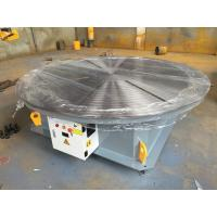 Quality Steel Structure / Slewing Ring Rotary Welding Positioner , Automatic Welding Positioner 15 Ton Max Capacity for sale