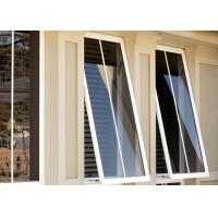 China Heat Resistant Custom Aluminium Windows Aluminium Glass Awning Top Hung Window on sale