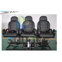 Quality Strong simulation and electric shock Motion Theater Chair  with pneumatic system supplier for sale
