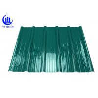 Quality Pvc Resin Plastic Roof Tiles Anti - Corrosive Multiayer Surface for sale