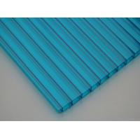 Quality ASA Coated Anti Scratchs Sun Polycarbonate Hollow Sheet for department store for sale