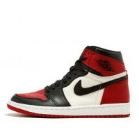 "Wholesale Air Jordan 1 Retro High OG ""Bred Toe Basketball Shoes & Sneakers for Sale for sale"