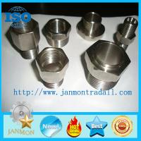 Quality Stainless steel hydraulic fittings,Stainless steel hydraulic pipe fittings,Stainless steel 304 threading connecting end for sale
