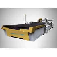 Buy cheap Customized CO2 Laser Cutter Automatic Fabric Cutting 3300*1700 With Vacuum Table from wholesalers