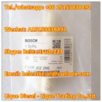 Quality 100% original BOSCH Valve F00RJ02266 , F 00R J02 266 Injector Control Valve Fit 0445120126,0 445 120 126 Genuine and new for sale