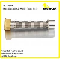 China Stainless Steel Gas Meter Flexible Hose 3/4 ,1 /FM on sale