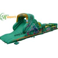 Quality Kids Jungle Inflatable Obstacle Course Bounce House For  Rental Business for sale