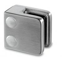 China Stainless Steel Square Glass Clamp  Flat Mount on sale