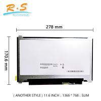 Buy cheap AUO 11.6inch Laptop LCD screen B116XTN01.0 EDP glare Lcd Panel from wholesalers