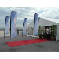 Buy cheap Customized print square banner,flying banner,indoor and outdoor advertising from wholesalers