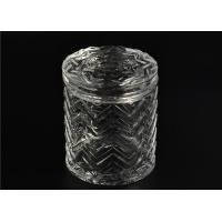 Quality Bulk Glass Tealight Holders / Glass Candlestick Holders Used In Sented Soy Wax for sale