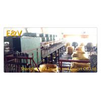 China Small High Capacity Vertical Brass Casting Machine PLC Control For 8mm Brass Rod on sale