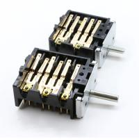 Quality 12 Bakelite Electric Oven Selector Multi Position Rotary Switch 16A 250V T150 for sale