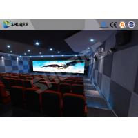 Quality Attractive 5D Theater System 4DOF Motion Chairs With Special Effect for sale