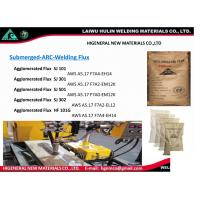 Quality Submerged ARC Welding flux, Agglomerated flux,AWS F7A2-EM12K for sale