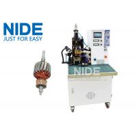 Quality Armature Wire Commutator Fusing Machine / Spot Welding Machine With Touch Screen for sale