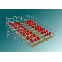 Quality Sport Stadium Portable Bleacher Seats With Backs Scaffolding Style for sale