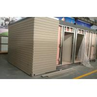 China Artificial Wood Cladding For House Decoration , Smooth Surface Wood Effect Wall Cladding on sale
