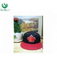 Quality Multi - Panel Sport Custom Printed Baseball Hats With Leather Patch for sale