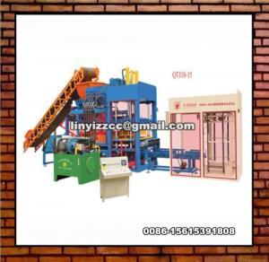 China QTJ10-15 Block Forming Machine on sale